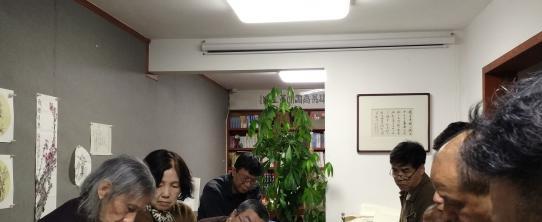 """听雷堂导师何雷衡先生春夜""""说梅画梅"""""""